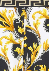 Versace - BOTTOM FELPA - Trousers - bianco/nero/oro - 2