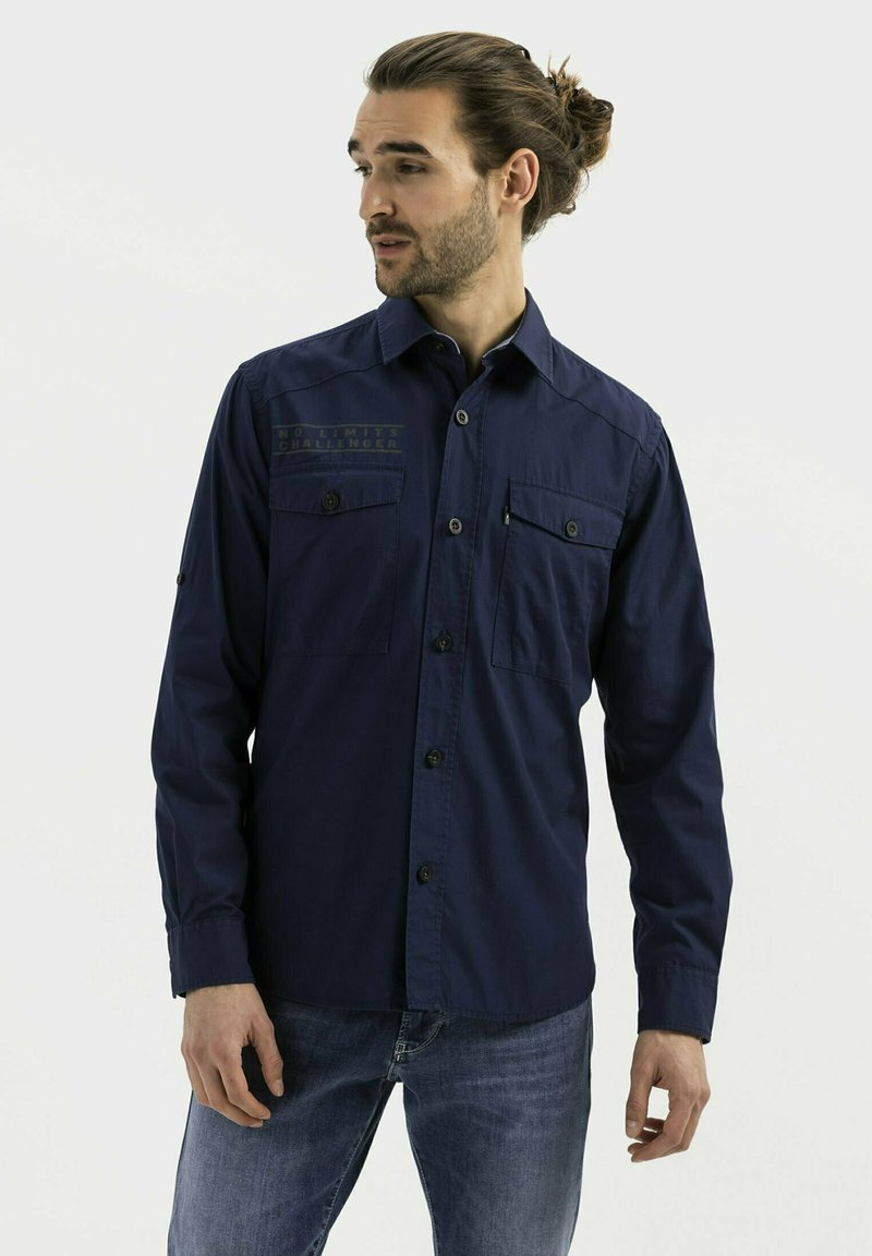 camel active - WORKWEAR - Shirt - dark blue