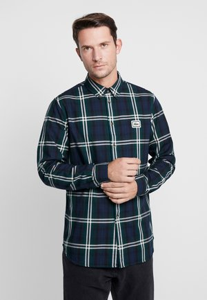 CH0112 - Shirt - dark green/dark blue/black