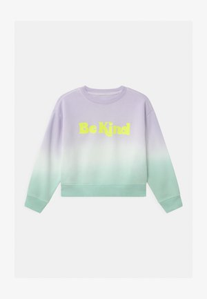 GIRL TIE DYE CREW - Sweater - purple