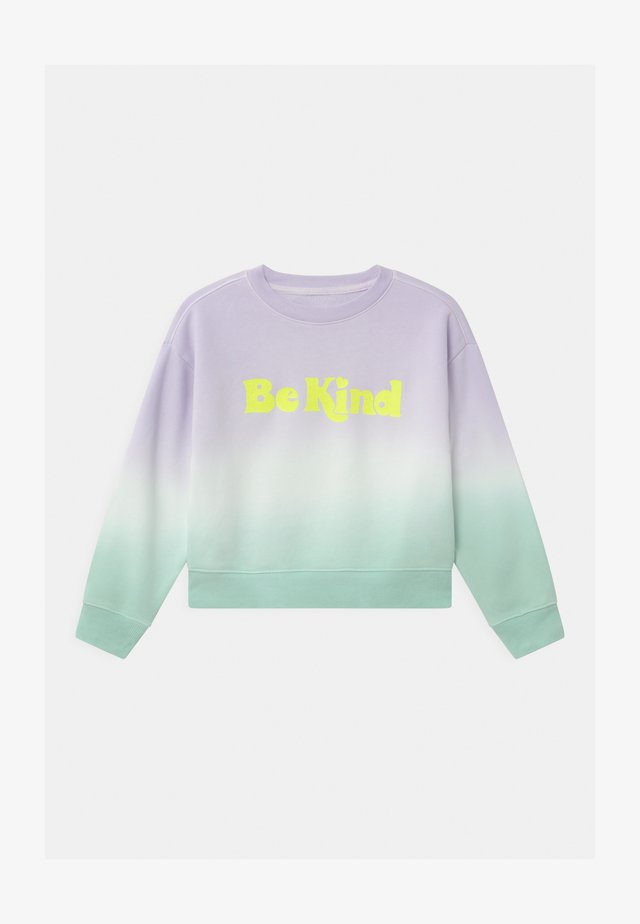 GIRL TIE DYE CREW - Sweatshirt - purple