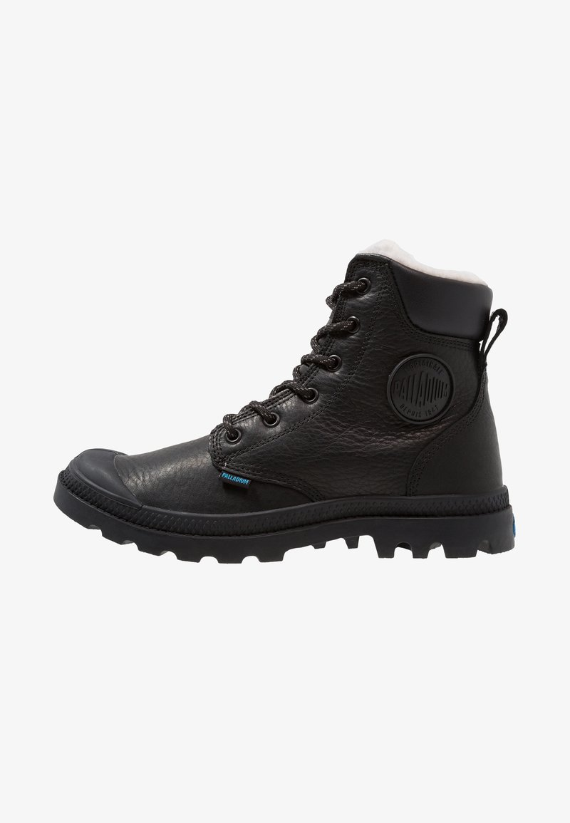 Palladium - PAMPA SPORT WATERPROOF SHEARLING - Vinterstøvler - black