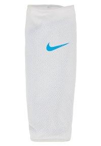 Nike Performance - MERCURIAL FLYLITE SUPERLOCK UNISEX - Shin pads - blue hero/white/obsidian - 4