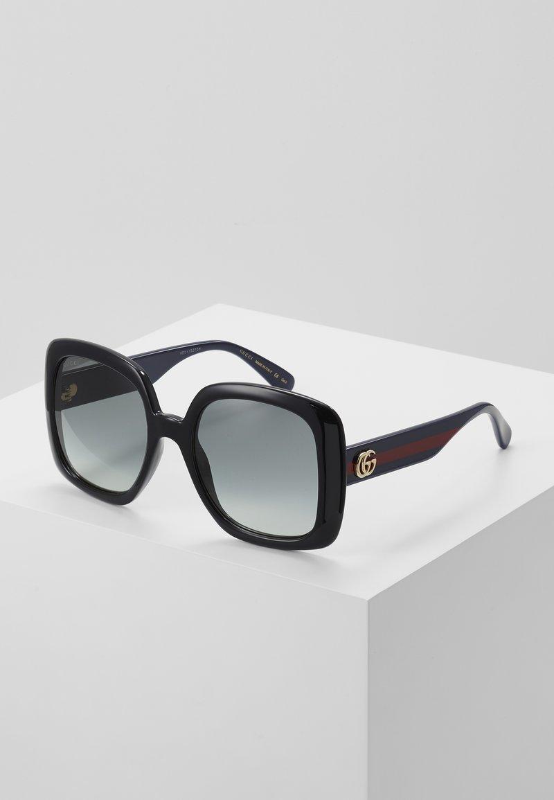 Gucci - Sluneční brýle - black/blue/grey