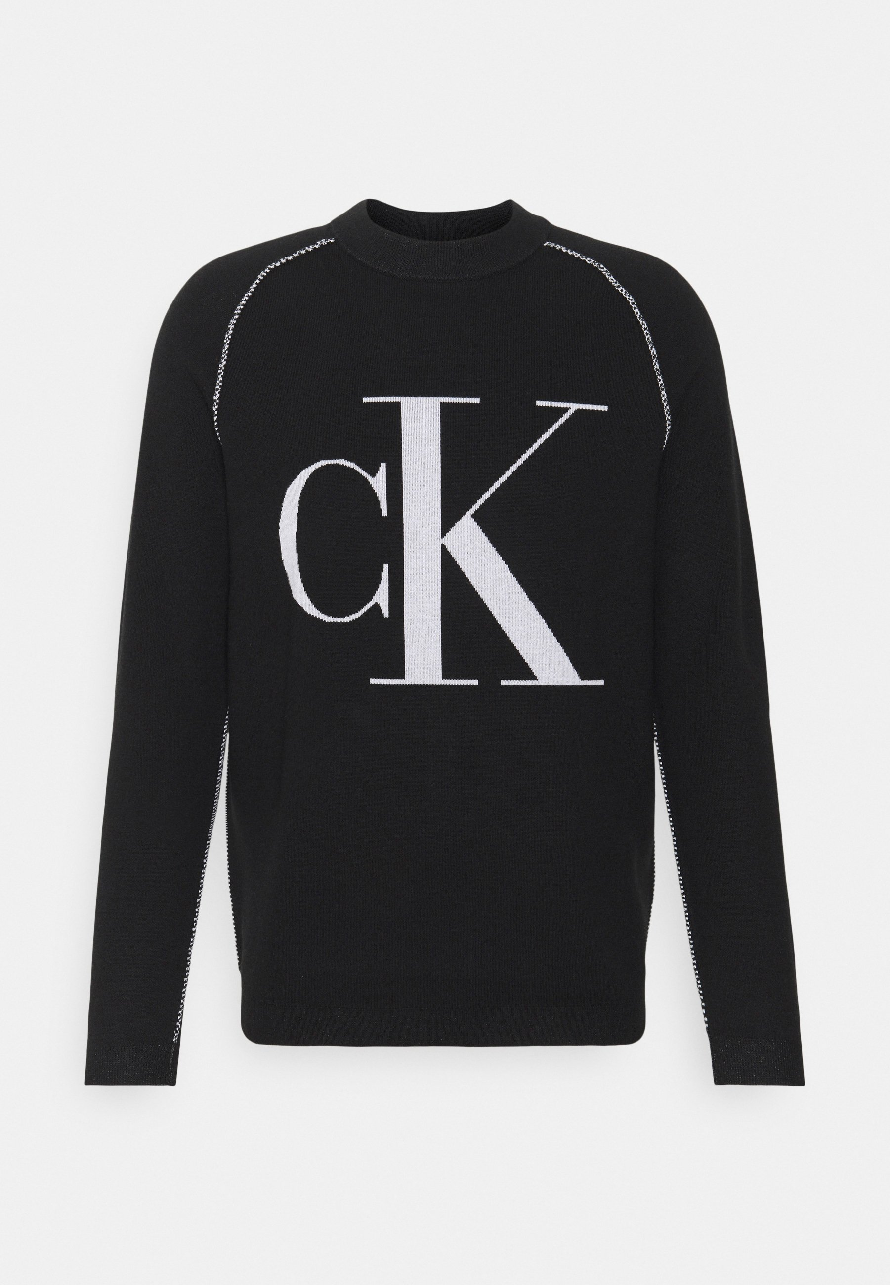 Homme OUTLINE LOGO SWEATER - Pullover