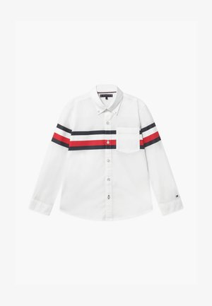 PRINTED GLOBAL STRIPE - Shirt - white