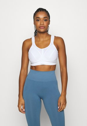 ACTIVE D + CLASSIC BRA - High support sports bra - white