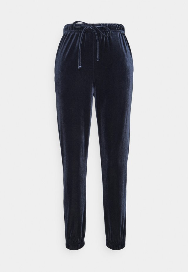 PCGIGI PANTS - Spodnie treningowe - navy blazer