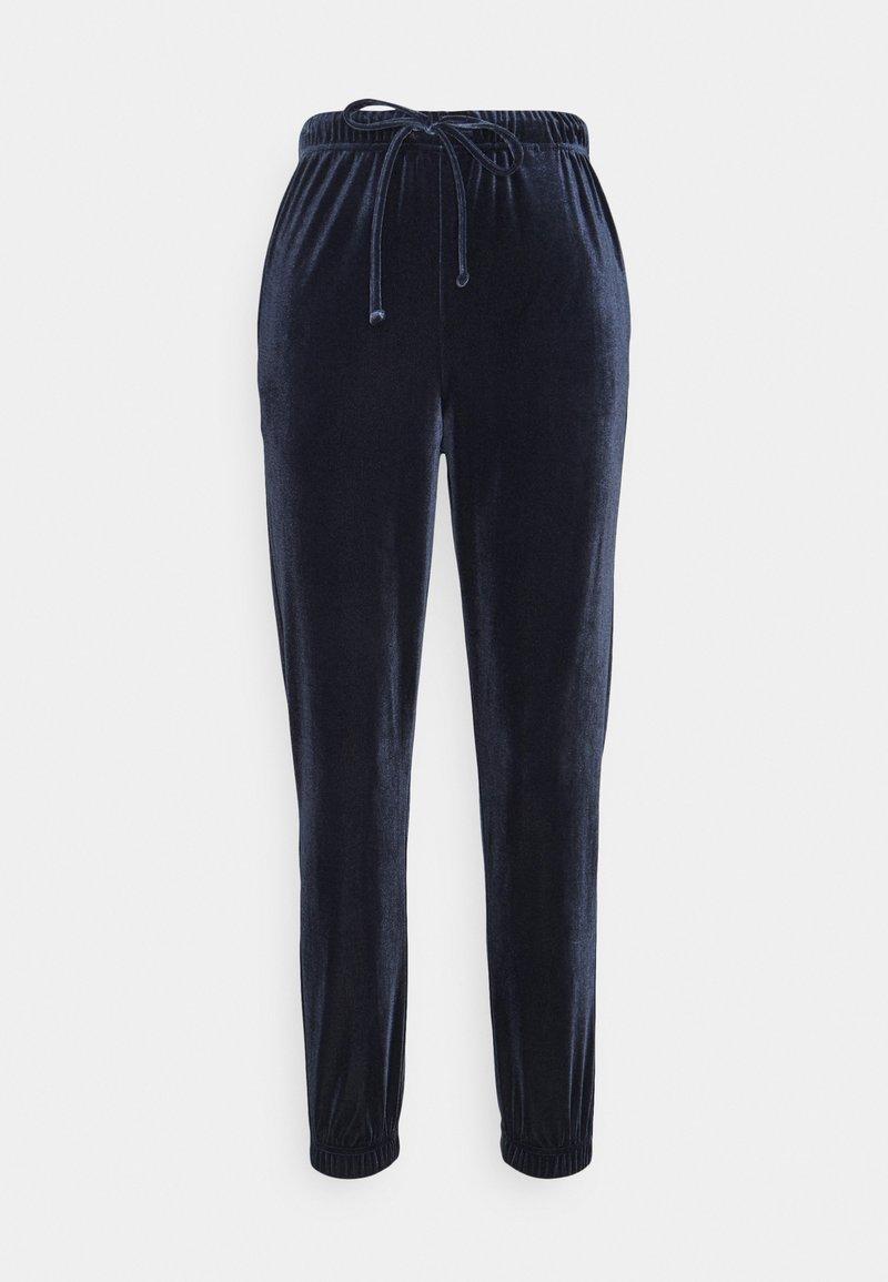 Pieces - PCGIGI PANTS - Tracksuit bottoms - navy blazer