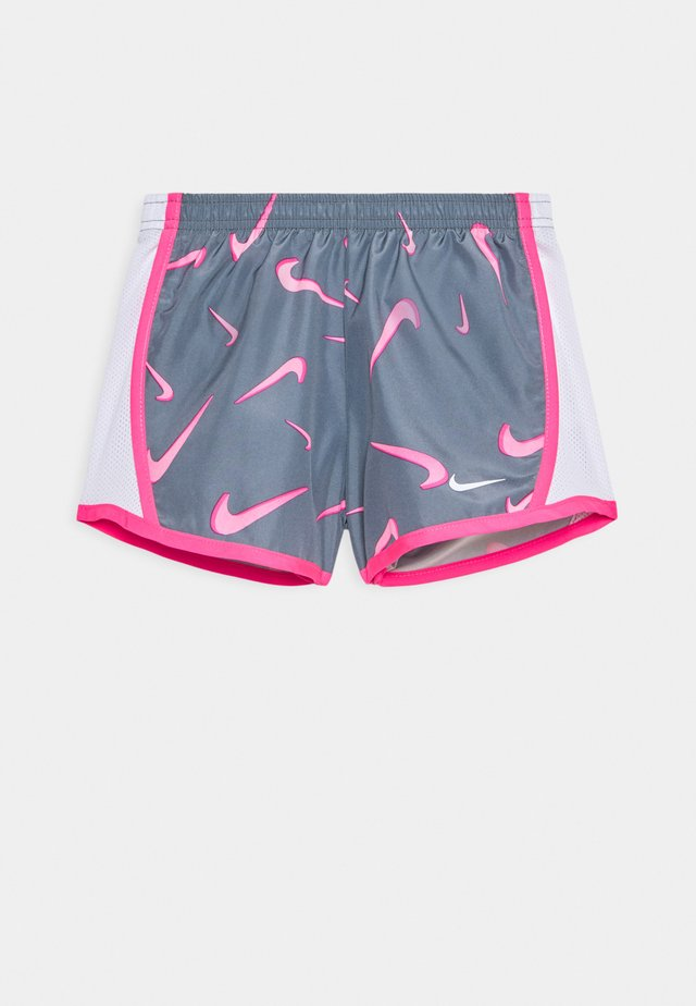 3D TEMPO SHORT - Shorts - smoke grey/pink/hyper pink/white