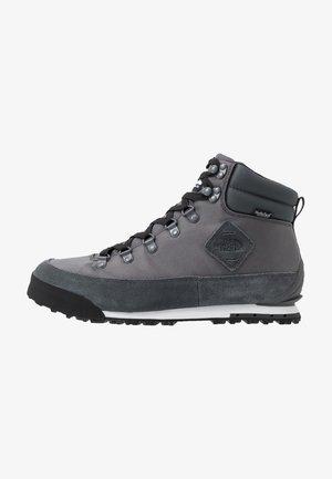 Šněrovací kotníkové boty - dark shadow grey/black