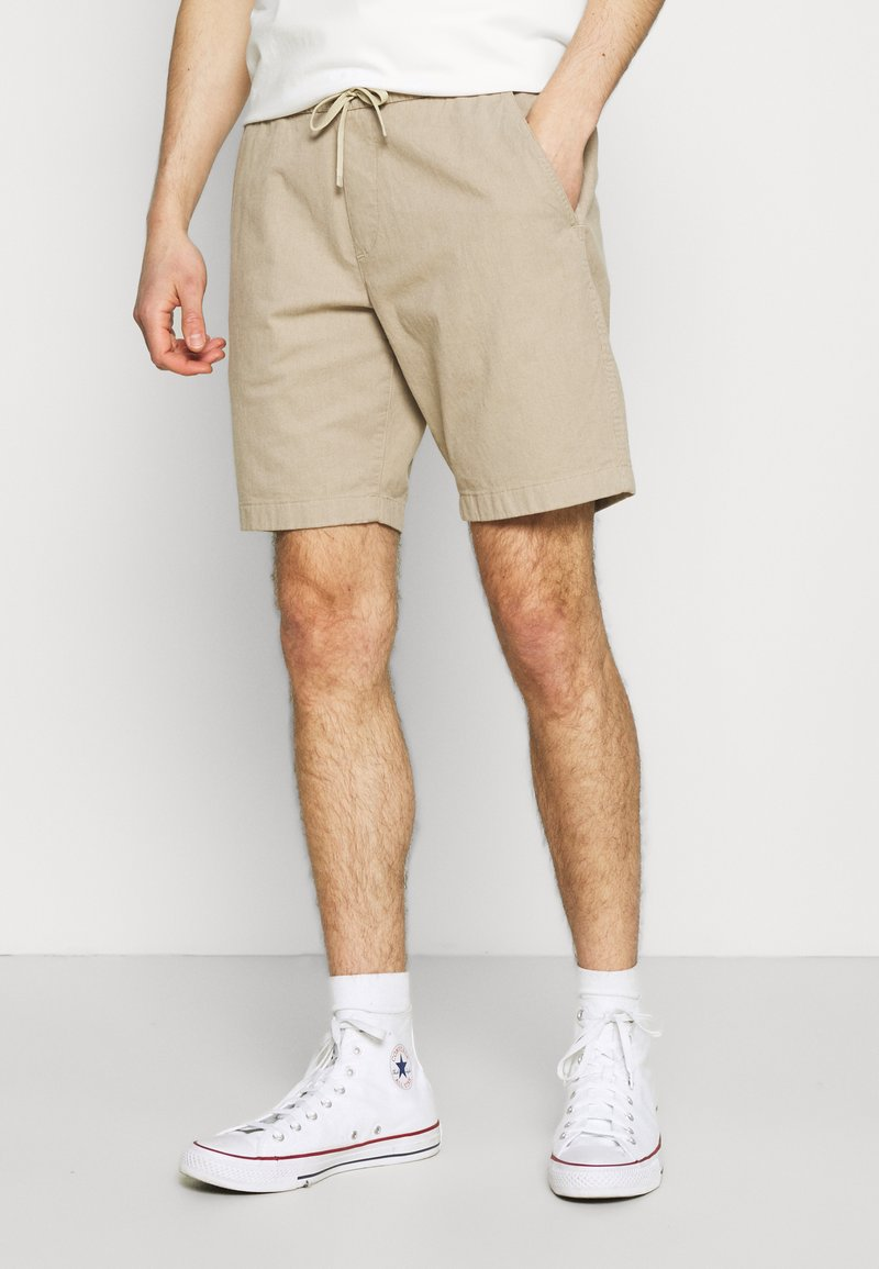 Abercrombie & Fitch - PULL ON - Shorts - khaki