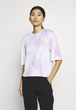 PASTEL TEE - T-shirts med print - allover tie dye pink