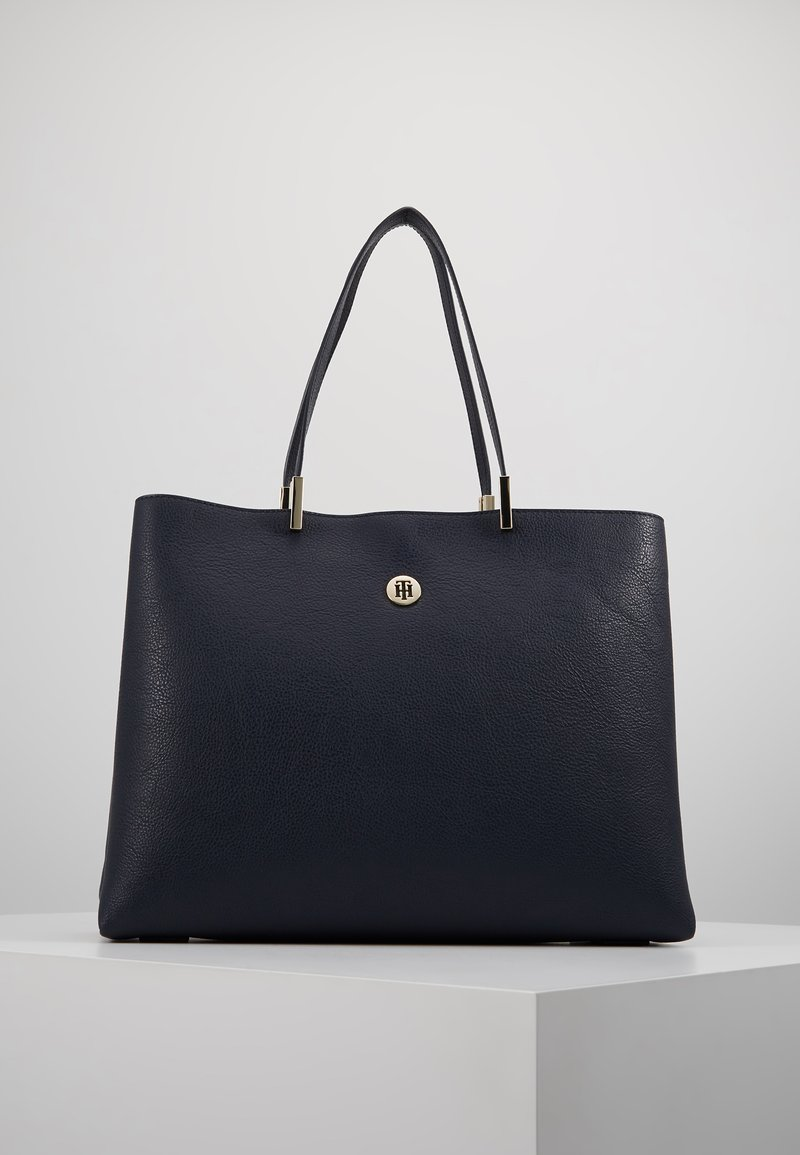 Tommy Hilfiger - CORE TOTE - Shopping bag - blue