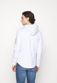 Hollister Co. - ICONIC HOODS  - Long sleeved top - white - 2