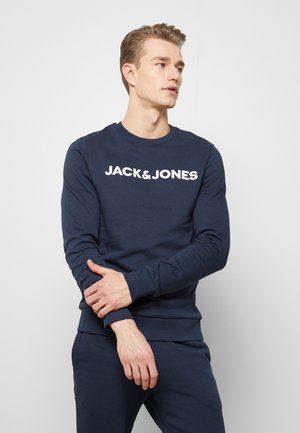 JACLOUNGE ONECK - Sweater - navy blazer
