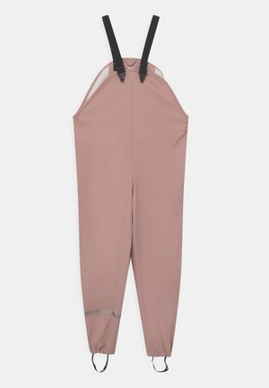 BASIC RAIN UNISEX - Rain trousers - misty rose