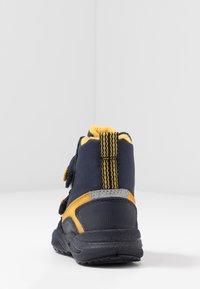 Superfit - GLACIER - Winter boots - blau/gelb - 4
