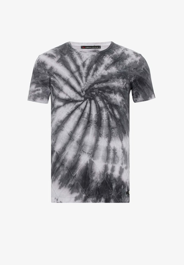 T-shirt print - anthracite