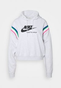 Nike Sportswear - HOODIE - Kapuzenpullover - birch heather/black - 4