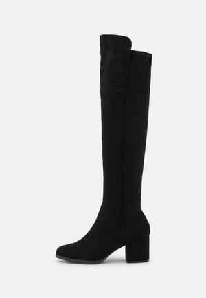 VEGAN YORELITH - Over-the-knee boots - other black
