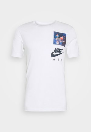 TEE AIRMAN DJ - Print T-shirt - white