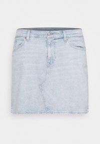Levi's® Plus - DECONSTRUCTED SKIRT - Jeansskjørt - light-blue denim - 3