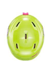 Uvex - Helmet - lime snow bunny - 2