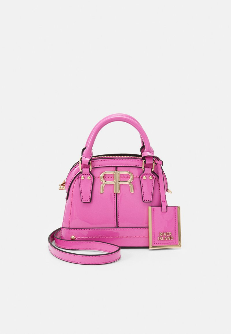 River Island - Handbag - pink bright