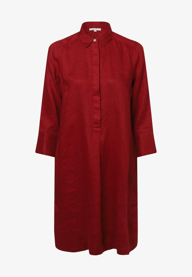 Shirt dress - bordeaux