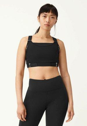 INFINITE FLEX - High support sports bra - black