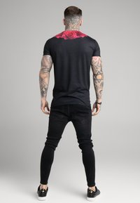 SIKSILK - ROSE TEE - Print T-shirt - black - 2