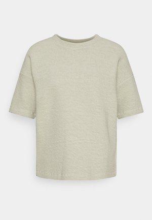 GINSTA - Jednoduché triko - pistachio