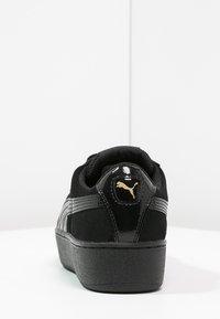 Puma - VIKKY PLATFORM - Sneaker low - puma black - 4