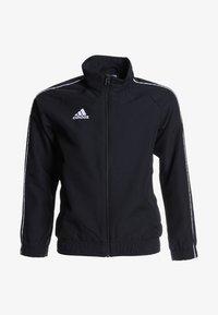 adidas Performance - CORE PRE - Kurtka sportowa - black/white - 0