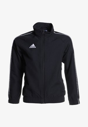 CORE PRE - Training jacket - black/white