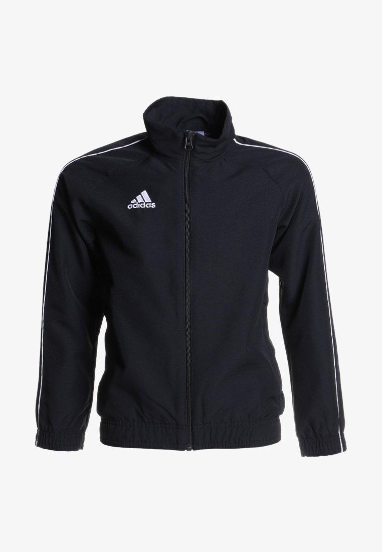 adidas Performance - CORE PRE - Kurtka sportowa - black/white