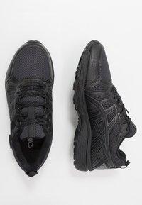 ASICS - GEL-VENTURE 7 WP - Chaussures de running - black/carrier grey - 1