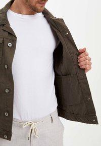 DeFacto - Denim jacket - green - 3
