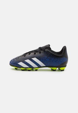 PREDATOR FREAK .4 FXG UNISEX - Moulded stud football boots - royal blue/footwear white/core black