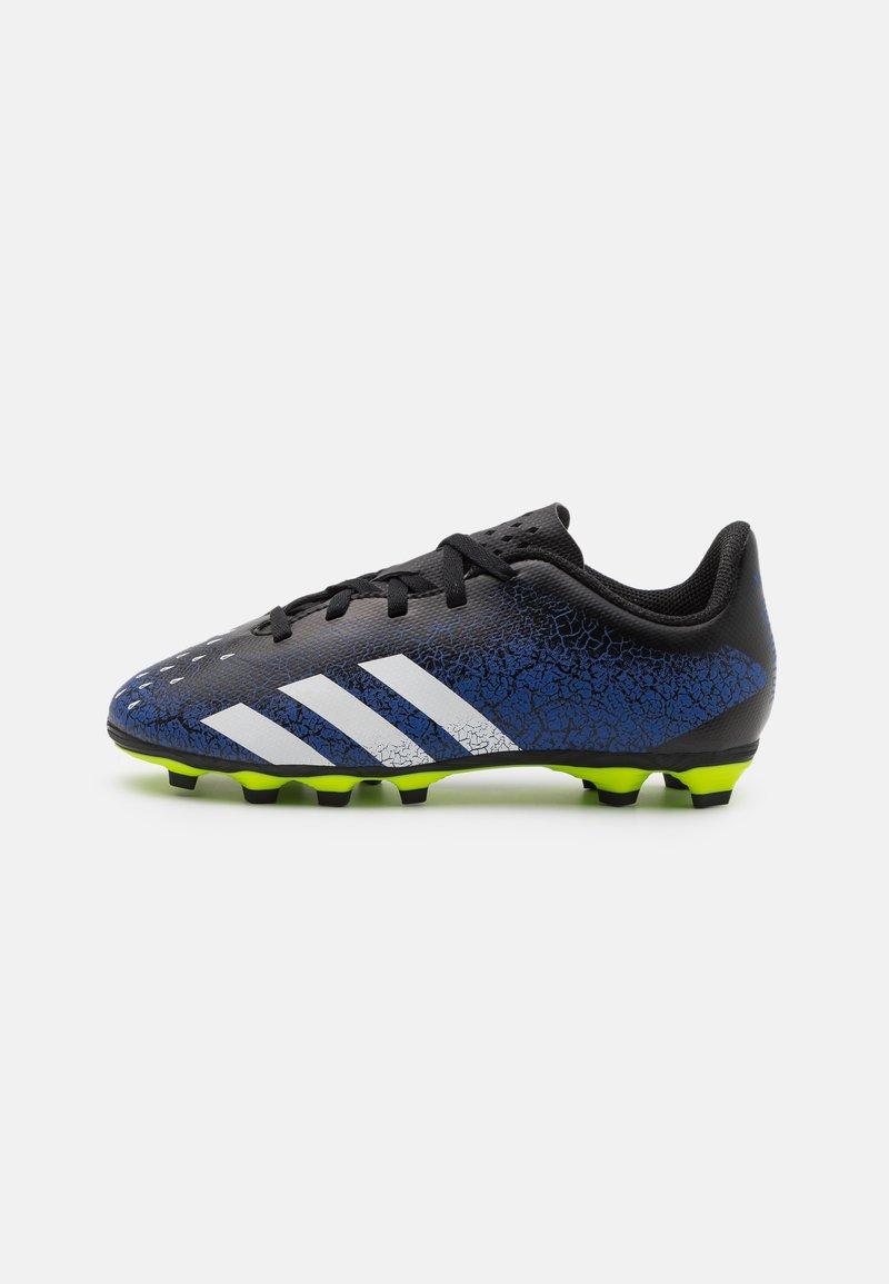 adidas Performance - PREDATOR FREAK .4 FXG UNISEX - Moulded stud football boots - royal blue/footwear white/core black
