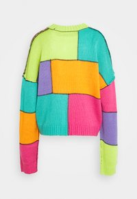 The Ragged Priest - COLOURBLOCK PANELLED JUMPER WITH EXPOSED SEAMS - Neule - multi - 1