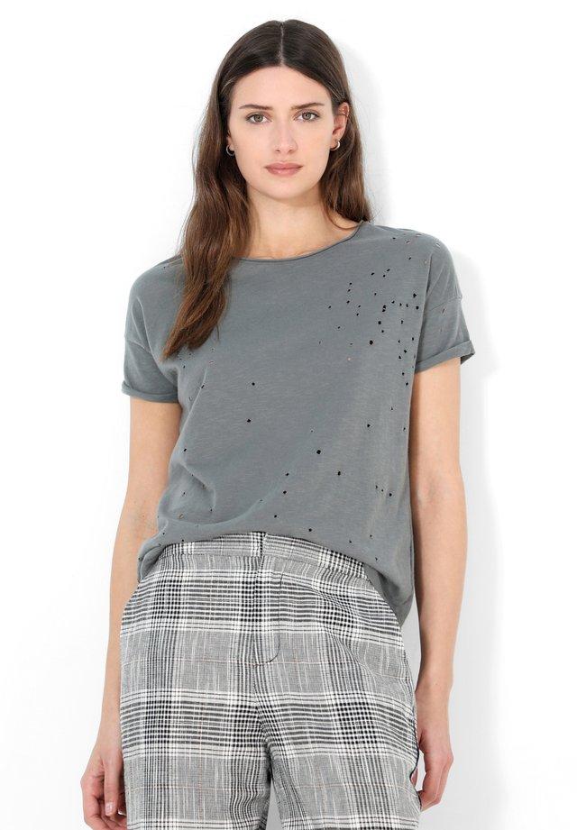 HOLES - T-shirt con stampa - dark grey