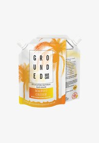 Grounded - HAIR MASK - Hair mask - orange/mango crush - 0