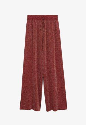 SABRINA - Pantalon classique - rosso