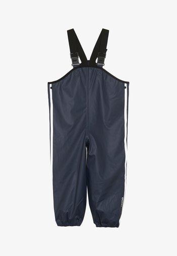 LAMMIKKO - Rain trousers - navy