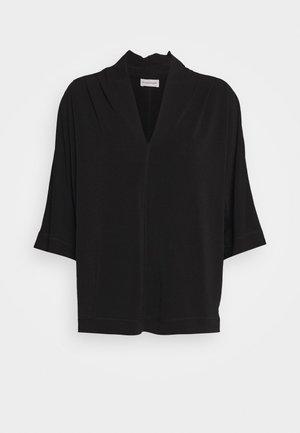 BIJANA - Maglietta a manica lunga - black