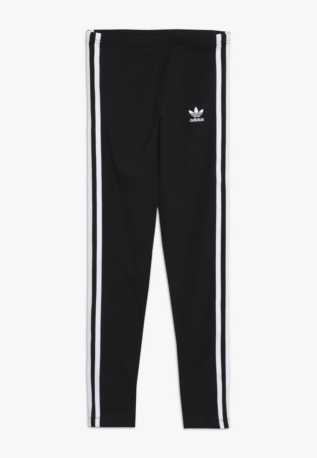 3 STRIPES  - Leggingsit - black/white
