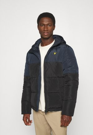 Winter jacket - jet black/dark navy