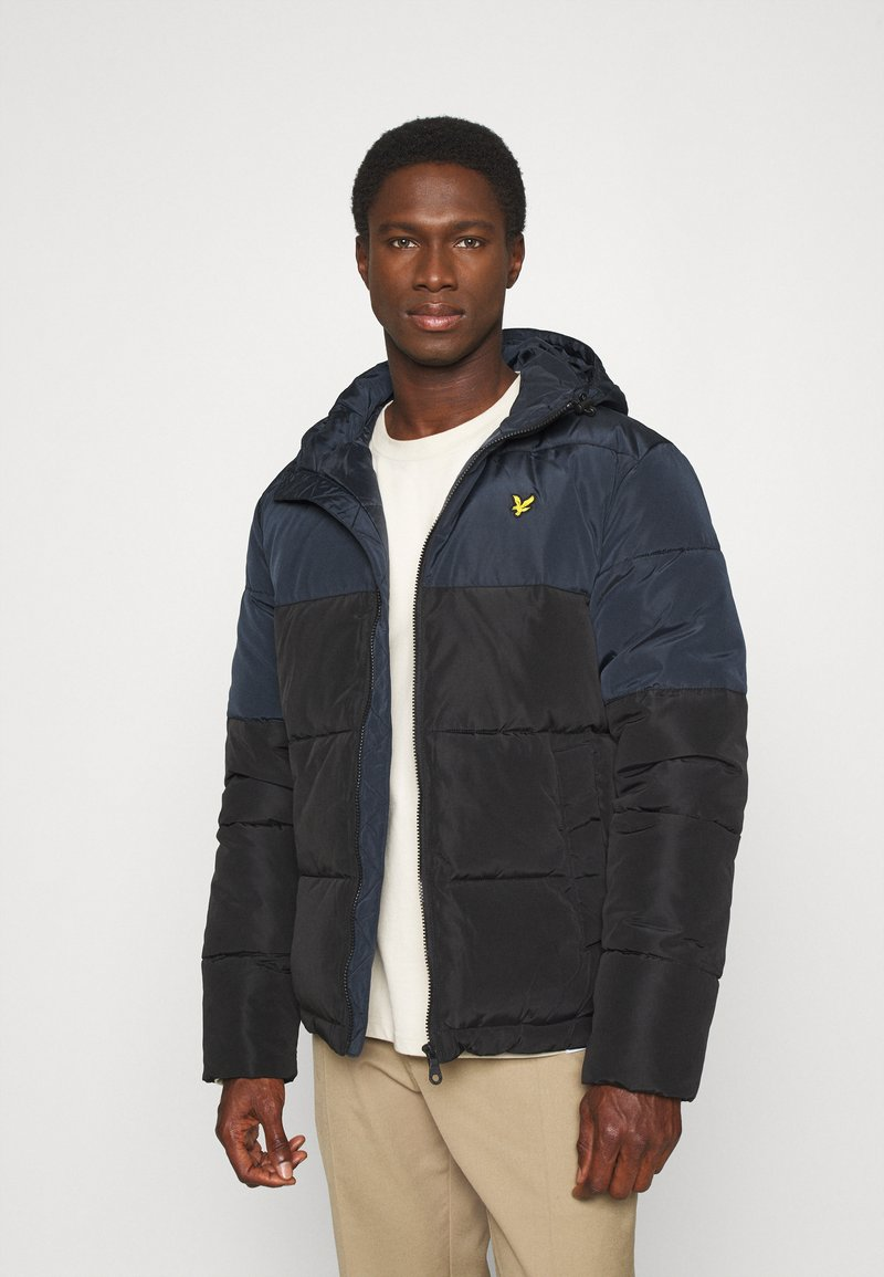 Lyle & Scott - Winter jacket - jet black/dark navy
